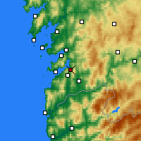 Nearby Forecast Locations - Redondela - Carte