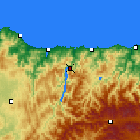 Nearby Forecast Locations - Castrillón - Carte