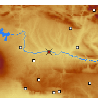 Nearby Forecast Locations - Bismil - Carte