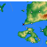 Nearby Forecast Locations - Babakale - Carte