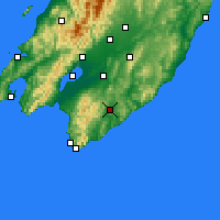 Nearby Forecast Locations - Waipawa - Carte
