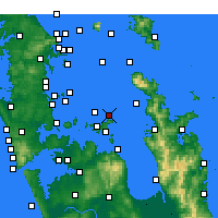 Nearby Forecast Locations - Gannet Rock - Carte