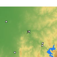 Nearby Forecast Locations - Dubbo - Carte