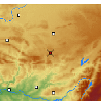 Nearby Forecast Locations - Almagro - Carte
