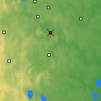 Nearby Forecast Locations - Aramil - Carte
