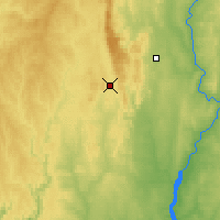 Nearby Forecast Locations - Baïmak - Carte