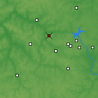 Nearby Forecast Locations - Bolokhovo - Carte