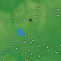 Nearby Forecast Locations - Khotkovo - Carte