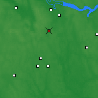 Nearby Forecast Locations - Fourmanov - Carte