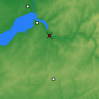 Nearby Forecast Locations - Iskitim - Carte
