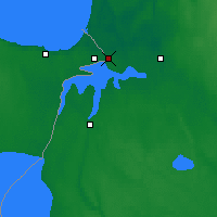 Nearby Forecast Locations - Ivangorod - Carte