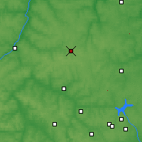 Nearby Forecast Locations - Iasnogorsk - Carte