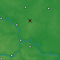 Nearby Forecast Locations - Iegorievsk - Carte