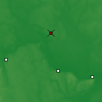 Nearby Forecast Locations - Iouja - Carte