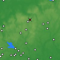 Nearby Forecast Locations - Krasnozavodsk - Carte
