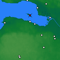 Nearby Forecast Locations - Kronstadt - Carte