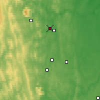 Nearby Forecast Locations - Lesnoï - Carte