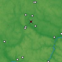 Nearby Forecast Locations - Obninsk - Carte