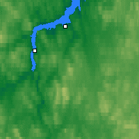 Nearby Forecast Locations - Poliarny - Carte