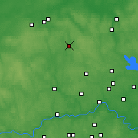 Nearby Forecast Locations - Solnetchnogorsk - Carte