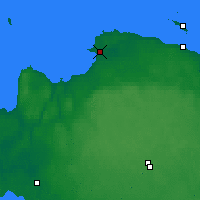 Nearby Forecast Locations - Sosnovy Bor - Carte