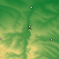 Nearby Forecast Locations - Svetlograd - Carte