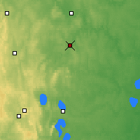 Nearby Forecast Locations - Syssert - Carte