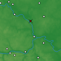 Nearby Forecast Locations - Voskressensk - Carte