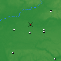 Nearby Forecast Locations - Novhorod-Siverskyï - Carte