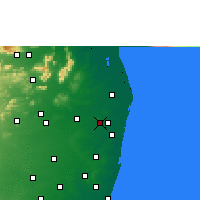 Nearby Forecast Locations - Avadi - Carte