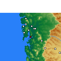 Nearby Forecast Locations - Navi Mumbai - Carte