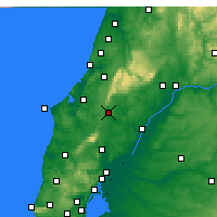 Nearby Forecast Locations - Rio Maior - Carte