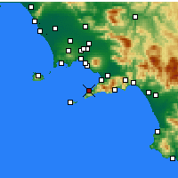 Nearby Forecast Locations - Sorrente - Carte