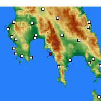 Nearby Forecast Locations - Lefktro - Carte