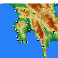 Nearby Forecast Locations - Messène - Carte