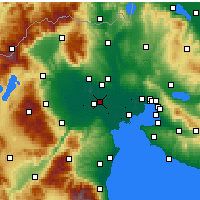 Nearby Forecast Locations - Platy - Carte