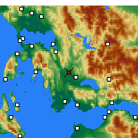 Nearby Forecast Locations - Stratos - Carte