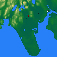 Nearby Forecast Locations - Manokotak - Carte