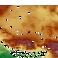 Nearby Forecast Locations - El Mirage - Carte