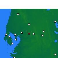 Nearby Forecast Locations - Plant - Carte