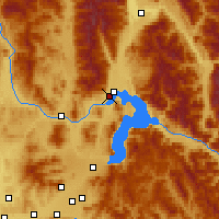 Nearby Forecast Locations - Sandpoint - Carte