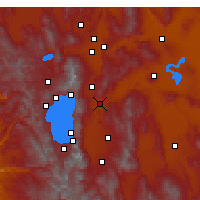 Nearby Forecast Locations - Carson City - Carte