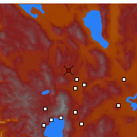 Nearby Forecast Locations - Reno - Carte