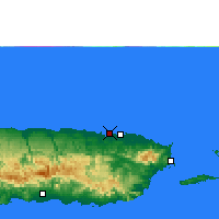 Nearby Forecast Locations - San Juan - Carte