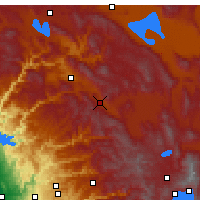 Nearby Forecast Locations - Blairsden-Graeagl - Carte