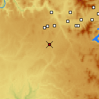 Nearby Forecast Locations - Cheney - Carte