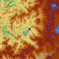 Nearby Forecast Locations - Eagle Point - Carte