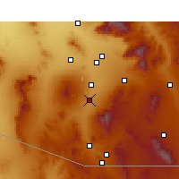 Nearby Forecast Locations - Green Valley - Carte
