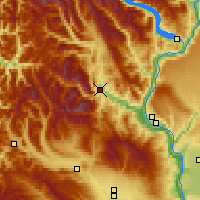 Nearby Forecast Locations - Leavenworth - Carte