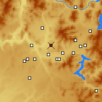 Nearby Forecast Locations - Mead - Carte